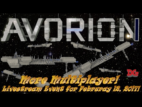 Avorion ► More Multiplayer Livestream Let's Play Event for February 12, 2017!