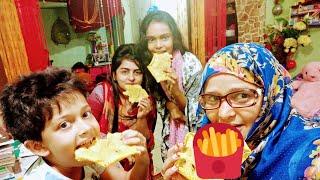 সবাই মিলে কি পার্টি করতেছি /we are enjoying a lot/Bangladeshi mom vlog