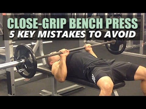 Close Grip The Bench Press – An Entire Guide With Form Tips