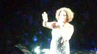 Footage of whitney houston performing 'i didn't know my own strength' live at the men arena, manchester, uk on 16th june 2010, penultimate concert her...