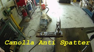 Dont poison yourself with toxic anti spatter MIG welding