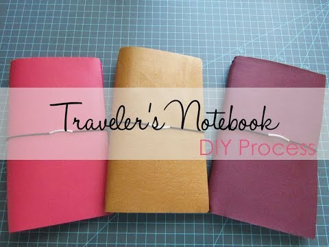 Traveler's Notebook - DIY Process