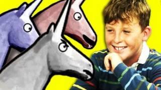 Kids React to Charlie the Unicorn