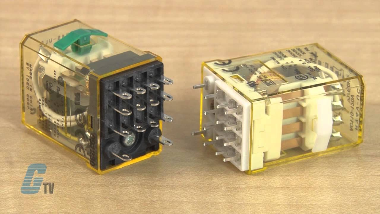 IDEC RYSeries General Purpose Relays A GalcoTV Overview YouTube – Idec Rh2b Base Wiring Diagram