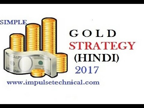 Simple Strategy to Trade GOLD without any Indicator (Hindi) 2017