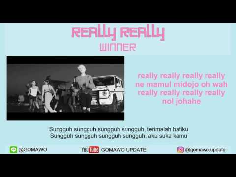 LIRIK WINNER - REALLY REALLY by GOMAWO [IndoSub]