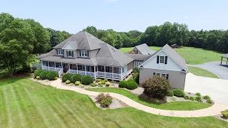 Seagrove North Carolina Farm and 4100+ SF home for sale.