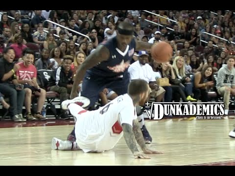 Mac Miller Gets Ankles BROKEN By Bone Collector