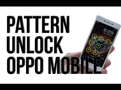 OPPO - How to unlock pattern lock mobile forget password, hard reset,