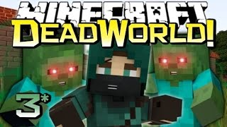Minecraft | THE HIGHWAY FROM HELL! | Dead World Adventure Map LP Ep 3/6