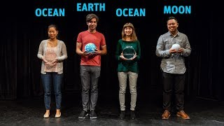 What causes high tides on opposite sides of the earth? | Dance of the Tides