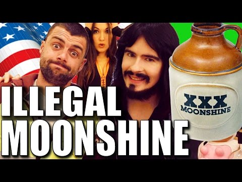Irish People Try 'ILLEGAL' American Moonshine!! - (153% Proo
