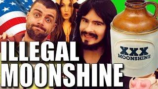 Irish People Try 'ILLEGAL' American Moonshine!! - (153% Proof) thumbnail