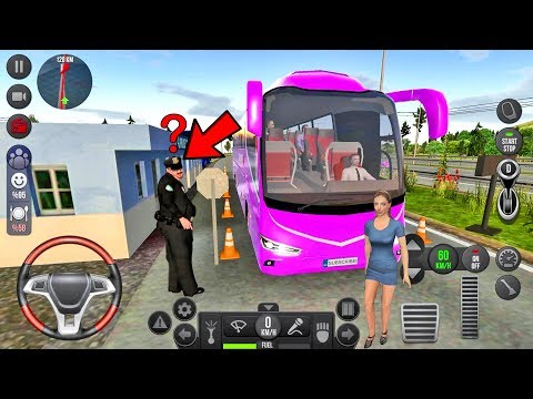 Bus Simulator Ultimate #8 Let's Go To France! Android Gameplay