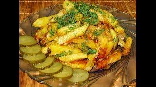 ЖАРЕНАЯ КАРТОШКА!!! Как правильно пожарить картошку / Секреты приготовления жареной картошки!!!