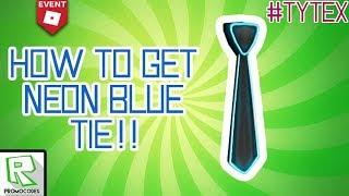[PROMO CODE] Roblox | How To Get Blue Neon Tie
