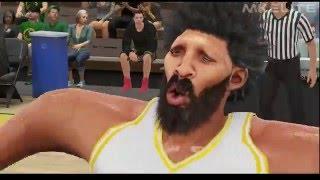 HILARIOUS NBA 2K17 2K16 MyPlayer MOD GAMEPLAY - 60 FPS HD