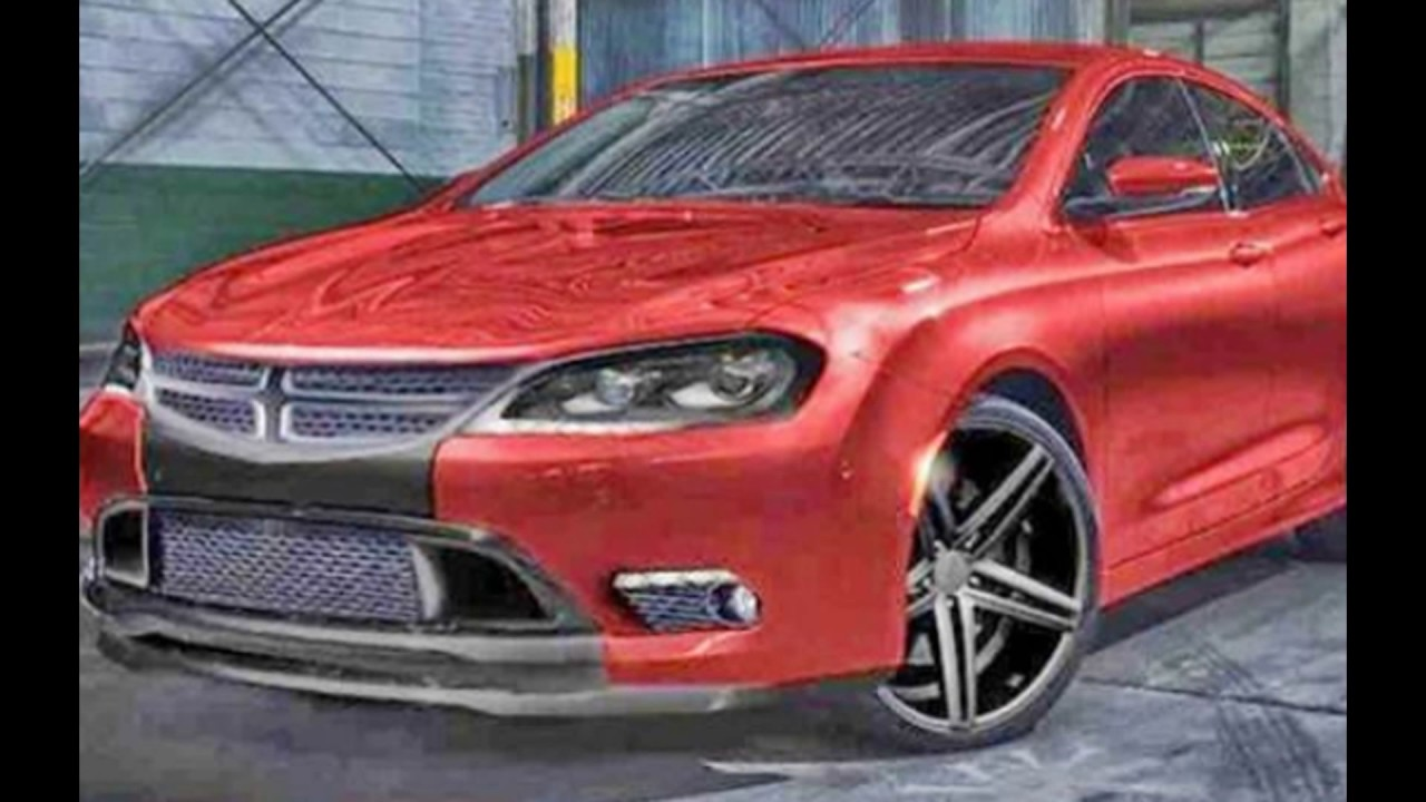 redesign 2018 dodge avenger new hellcat ??! - youtube