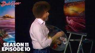 Bob Ross - Sunset over the Waves (Season 11 Episode 10)