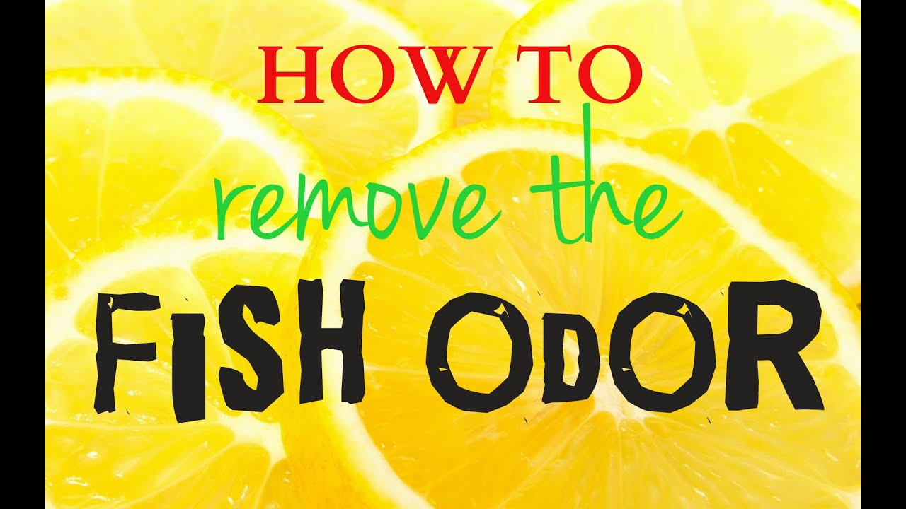 How To Remove The Fish Odor At Home (4 Easy Methods)   YouTube