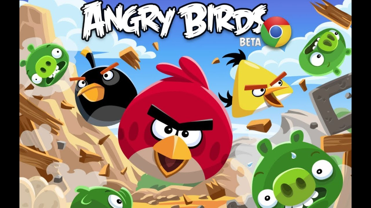 Playing Angry Birds Board Game On Thin Ice and Knock On Wood