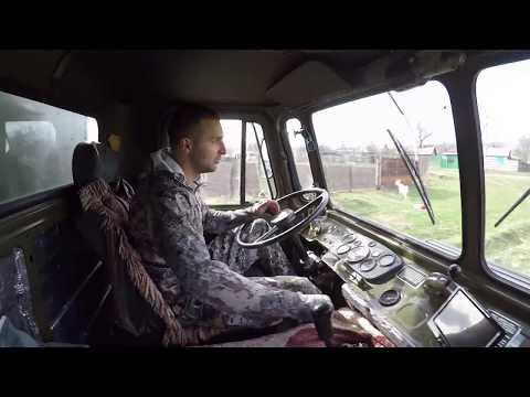 Газ 66 Дизель vs УАЗ Дизель  отвесный склон