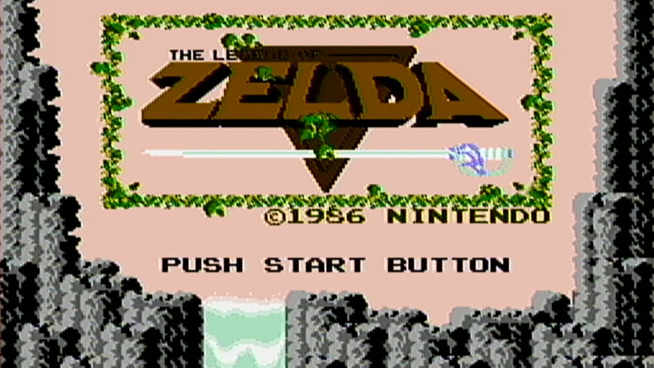 The Legend Of Zelda Nes Gameplay