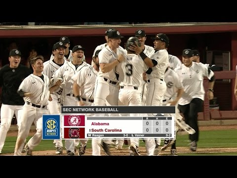 RECAP: Baseball Defeats Alabama 6-5 (3/25/17)