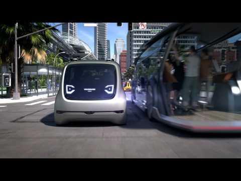 VW SEDRIC - autonomous shuttle