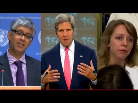 Obama & Kerry Caught Misleading on Syria & Weapons Inspectors