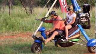 MICROLIGHT family adventures Dinokeng South Africa