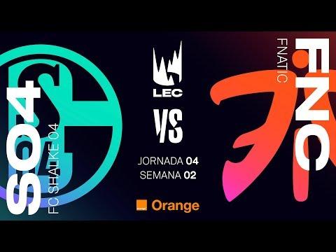 LEC EN CASTELLANO - SCHALKE 04 VS FNATIC - LEAGUE OF LEGENDS EUROPEAN CHAMPIONSHIP DÍA 4 #LECENLVP2