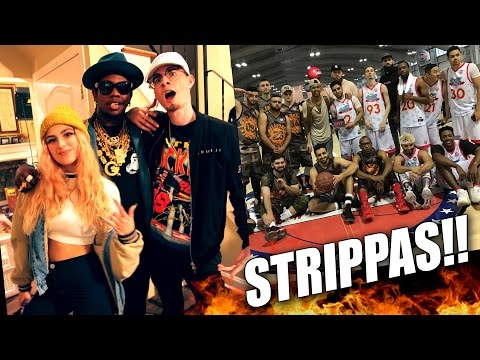 SneakerCon, Strippers, and Trinidad James Music Vid Cameo!! Cantu vs. New York Vlog #27