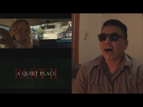 A Quiet Place Part II | Official Trailer Reaction | Paramount Pictures