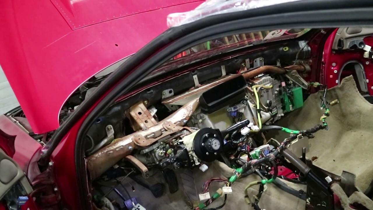 My Interiors Gone Sc300 To Full Race Car Bye Bye Youtube