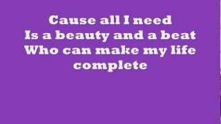 Justin Bieber ft Nicki Minaj - Beauty and A Beat Lyrics