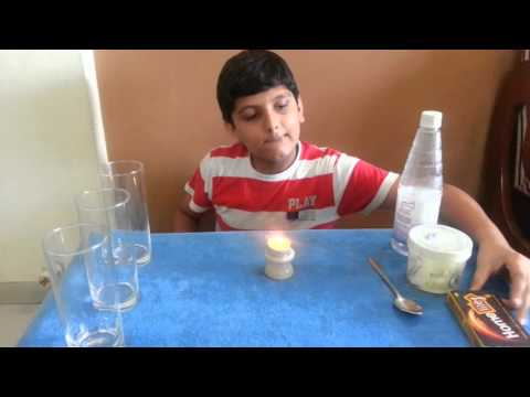 Fun with Carbon Dioxide - School Science Experiments by Saankhya Pathak
