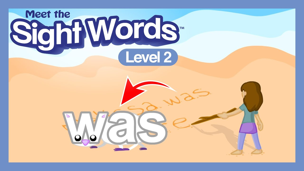 Meet the Sight Words Level 2 - Jump Out Segment
