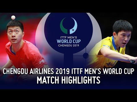 Ma Long Vs Tomokazu Harimoto | 2019 ITTF Men's World Cup Highlights (1/2)