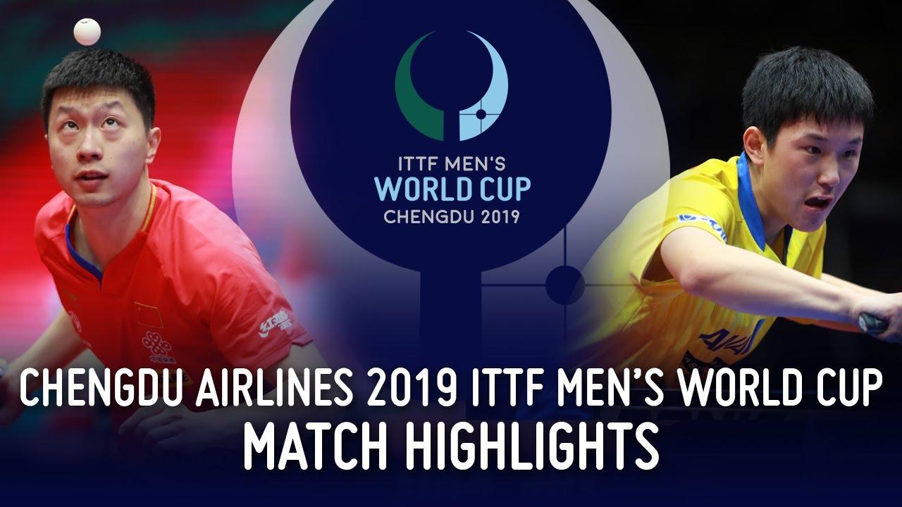 Download Ma Long vs Tomokazu Harimoto | 2019 ITTF Men's World Cup Highlights (1/2)