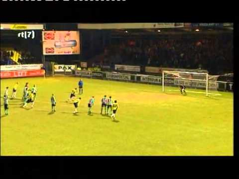 17 02 2009 Cambuur Fc Zwolle 1 2 Youtube