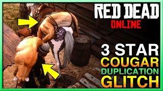 SUPER EASY Red Dead Online Money Glitch - 3 Star Cougar Red Dead Online Money Glitch - RDR2 Glitch