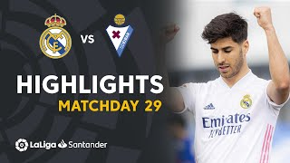 Highlights Real Madrid vs SD Eibar (2-0)