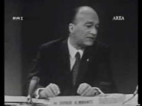 Giorgio Almirante Msi Gli Opposti Estremismi Wmv Youtube