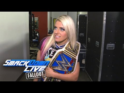Bliss relishes becoming the two-time SmackDown Women's Champ: SmackDown LIVE Fallout, Feb. 21, 2017
