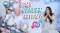 OFFICIAL NASEY FAMILY BABY GENDER REVEAL PARTY!!