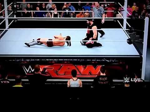 WWE MONDAY NIGHT RAW:DANIEL BRYAN VS KEVIN OWENS