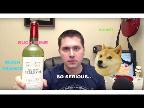 2014 Chateau Bellevue Red Bordeaux Wine Review