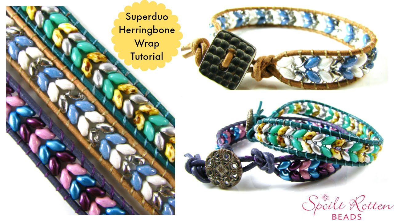 Superduo Herringbone Wrap Tutorial