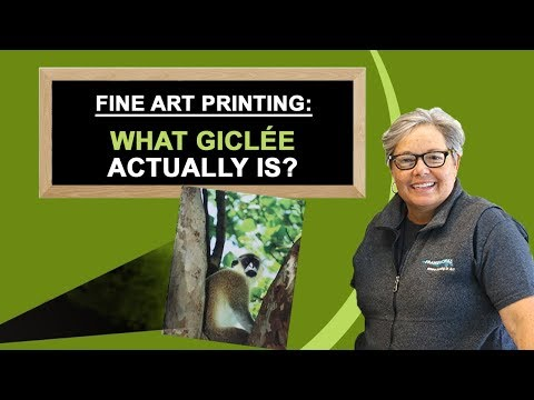 Fine Art Printing: What Giclée Actually is? - Frameworks, Miami, FL